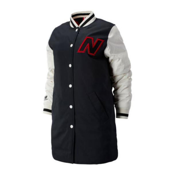 New Balance 93518 Women's NB Athletics Select Jacket - Grey/Off White/Red (WJ93518BKM)
