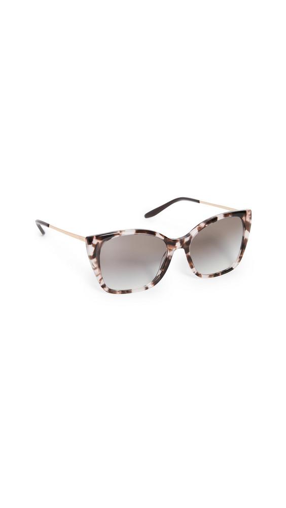 Prada Classic Metal Acetate Square Sunglasses in pink