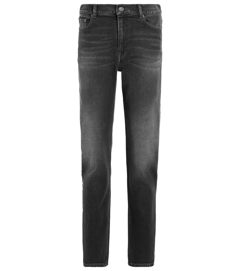 Balenciaga Mid-rise straight jeans in grey