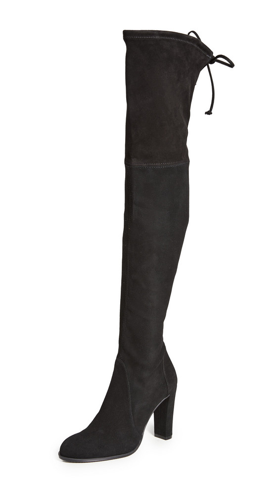 Stuart Weitzman Highland Boots in black