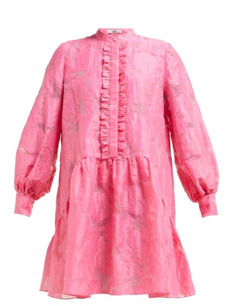 Erdem - Quentin Fil Coupé Dress - Womens - Pink