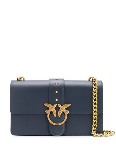 Pinko Love satchel bag in blue