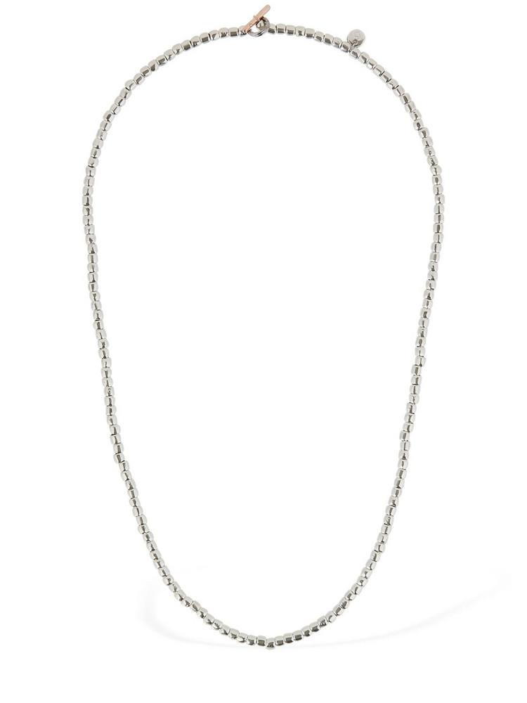 DODO Mini Granelli Chain Necklace in silver