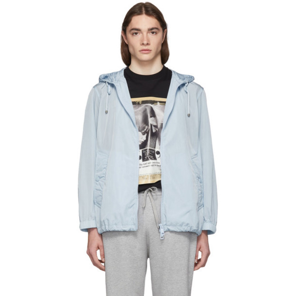 Burberry Blue Packable Winchester Jacket