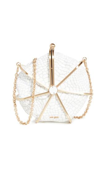 Cult Gaia Nika Crossbody Bag in white