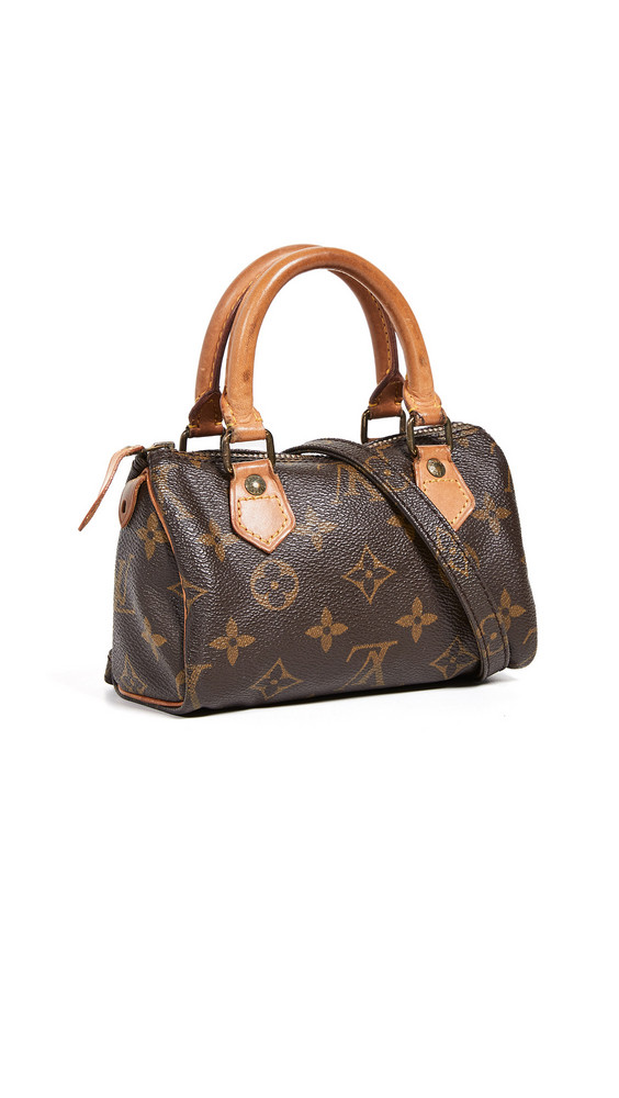 What Goes Around Comes Around Louis Vuitton Mini HL Speedy bag in brown