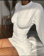 dress,white,girl,women