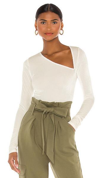 OW Intimates Amelia Bodysuit in Cream in white