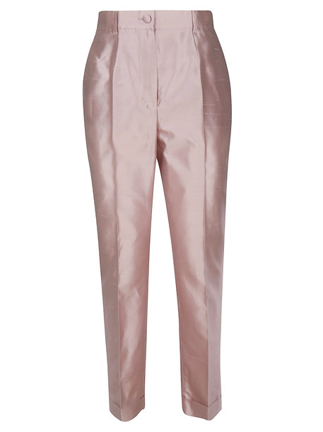 Dolce & Gabbana Classic Trousers in pink