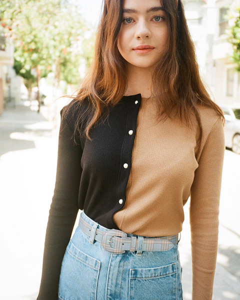 belt sweater