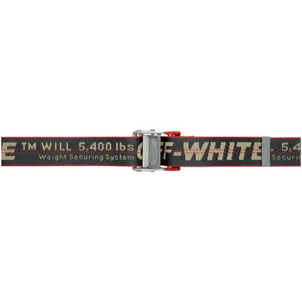 Off-White Grey Industrial Belt