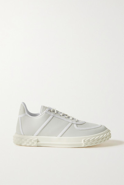 Giuseppe Zanotti - Leather Sneakers - Ivory