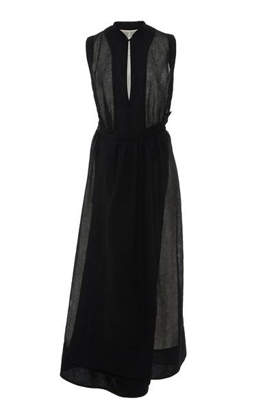 Jil Sander Molly Midi Dress in black