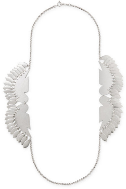 Isabel Marant - Birdy Silver-tone Necklace