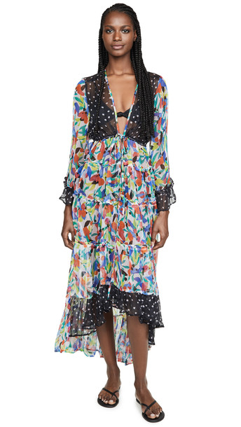 ONE by New Friends Colony ONE by Copa Cabana Kimono in print