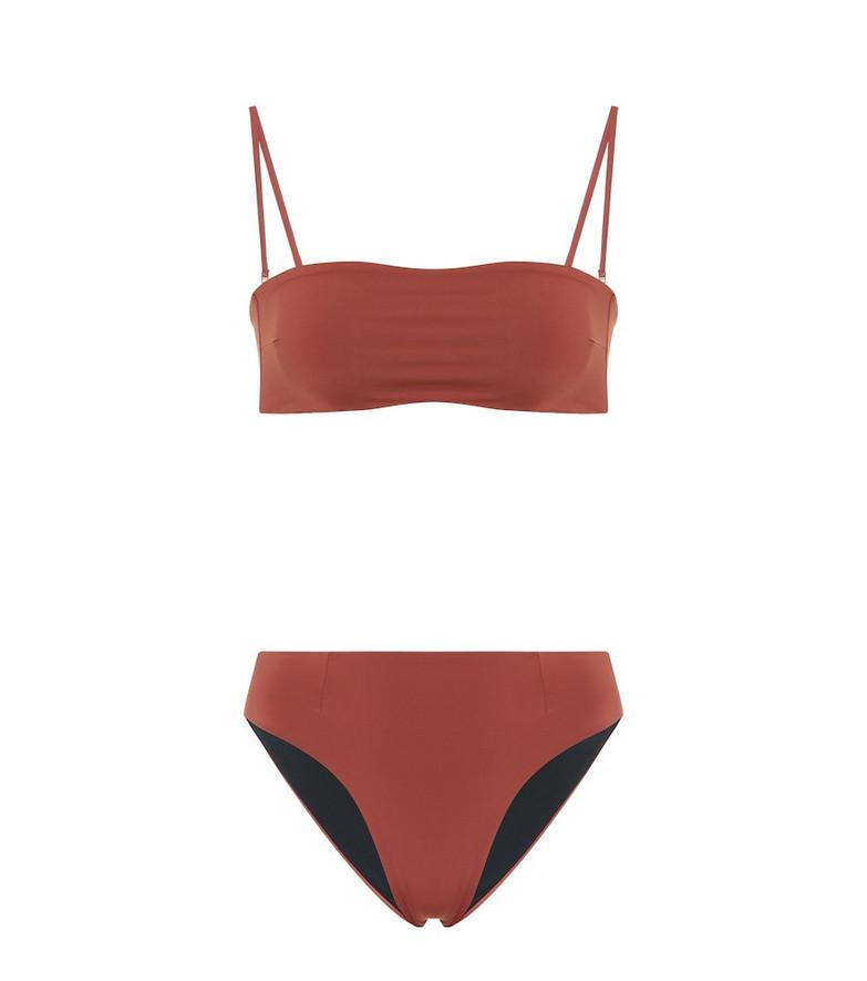 Haight Marcella bikini in red