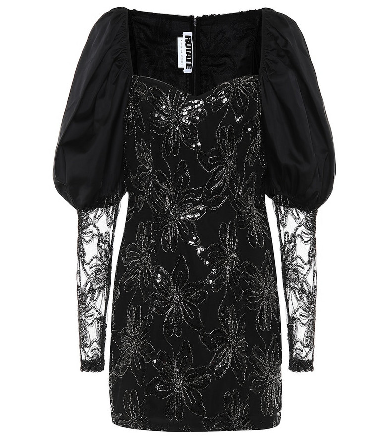 ROTATE BIRGER CHRISTENSEN Sequined minidress in black