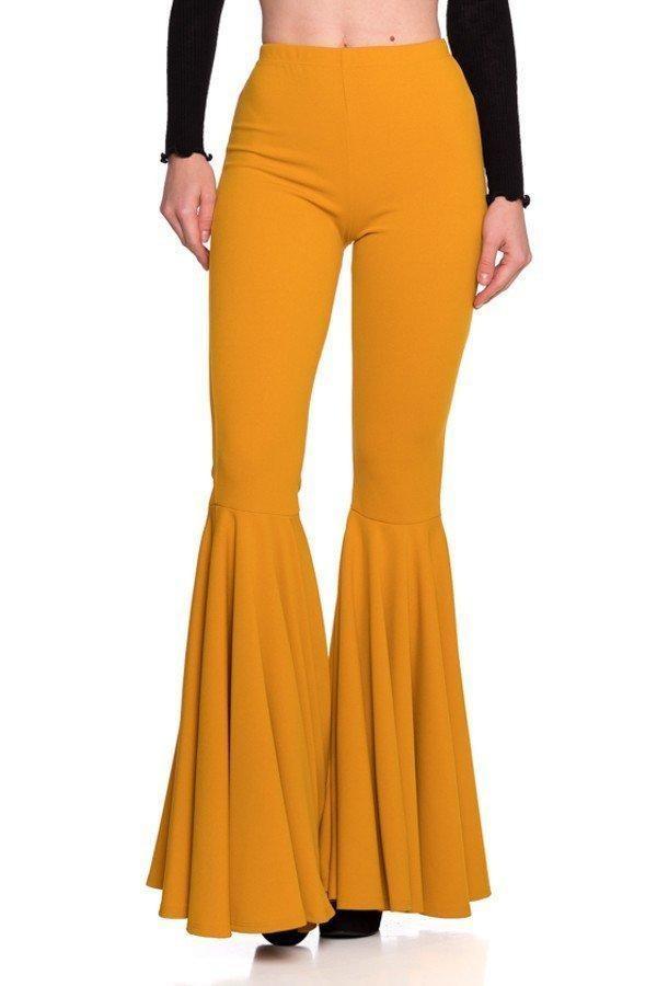 pants wide leg pants women women pants flare legs pants bell bottoms mermaid pants