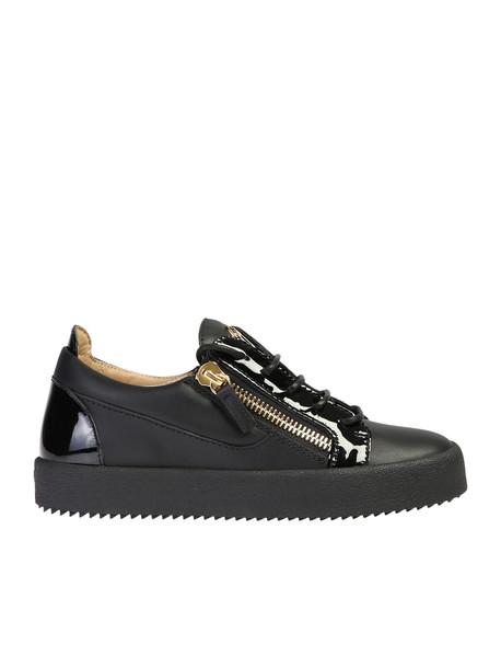 Giuseppe Zanotti Zipped Sneakers in black