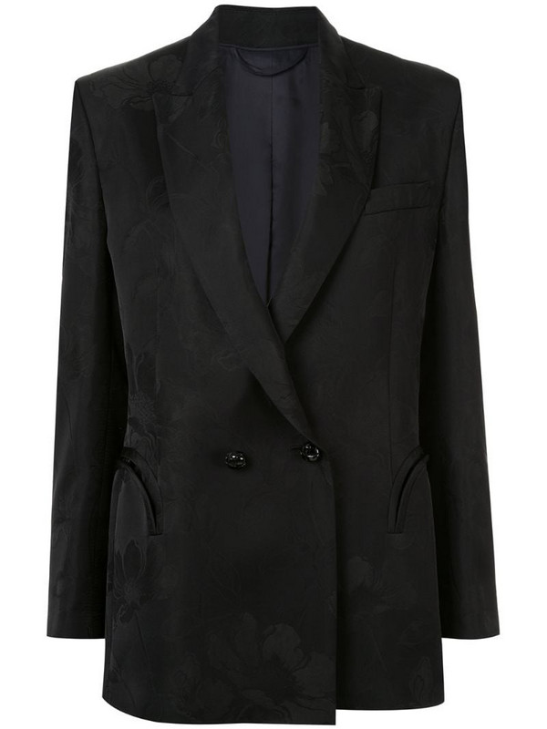 Blazé Milano double-breasted jacket in black