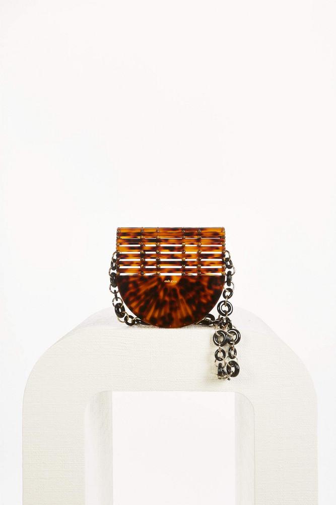 Cult Gaia Gaia's Ark Crossbody Bag - Tortoise (PREORDER)                                                                                               $298.00