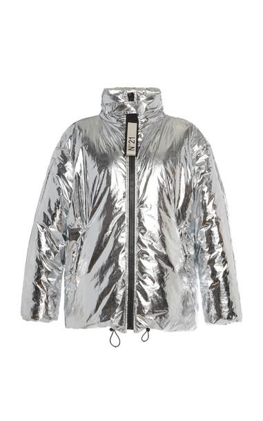 N°21 Gabrielle Sport Jacket in silver