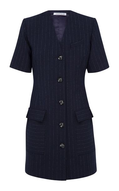 Anna Quan Portia Button Down Stripe Dress