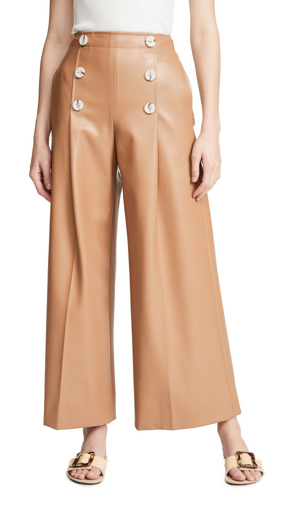 Adeam Sailor Pants in camel