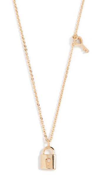 Shashi You Are Mine Necklace in gold