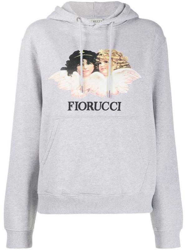 Fiorucci Angels hoodie in grey