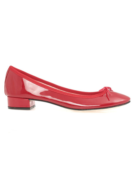 Repetto Jane Ballet Shoe in red