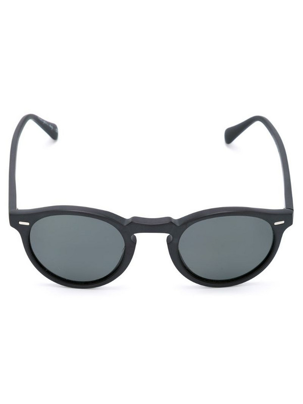 Oliver Peoples 'Gregory Peck' sunglasses in black