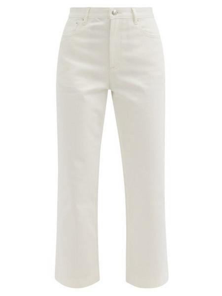 A.P.C. A.P.C. - Sailor High-rise Cropped Jeans - Womens - White