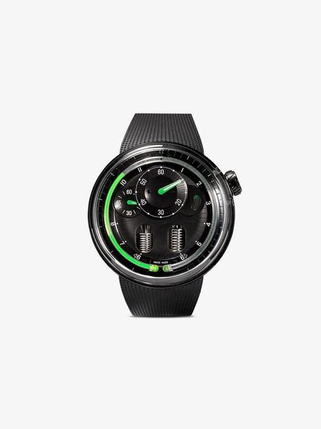 Hyt Black and green H0 watch