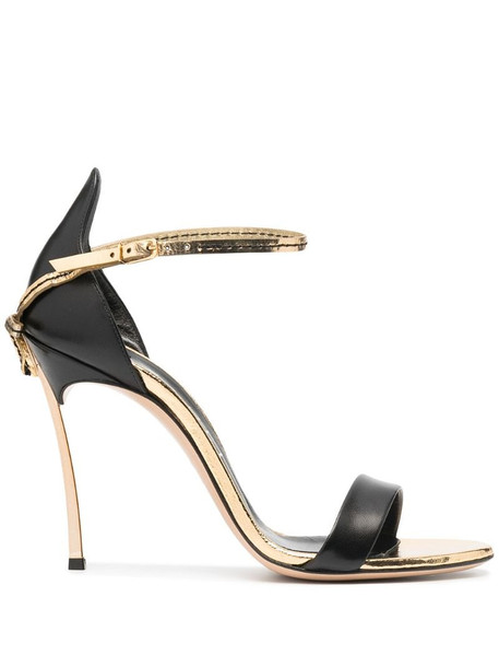Casadei Blade Penny sandals in black