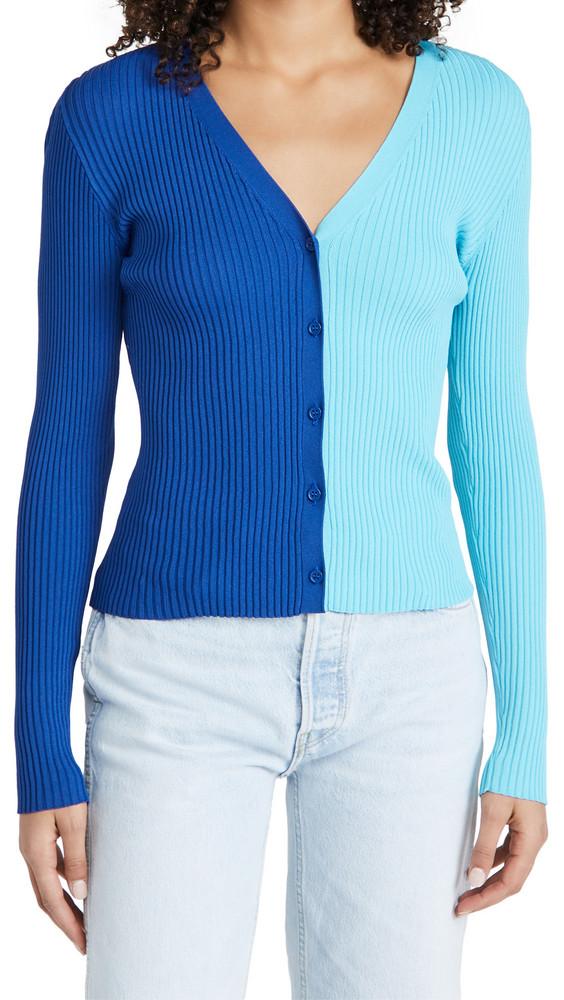 STAUD Cargo Sweater in blue