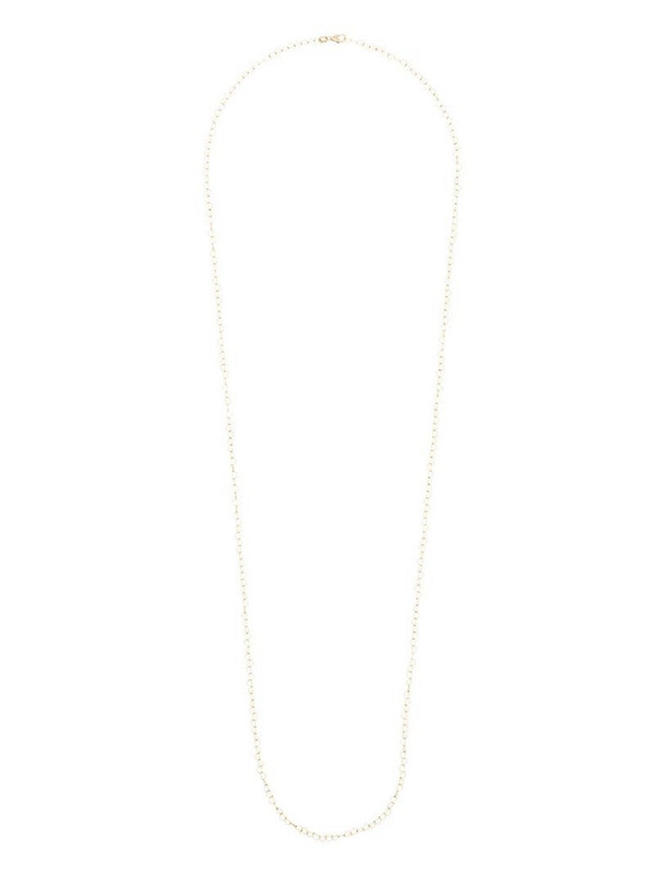 Loquet 9K yellow gold heart-chain necklace