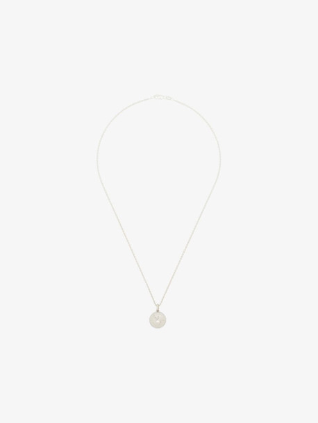 Hatton Labs X Chinatownmarket sterling silver basketball necklace