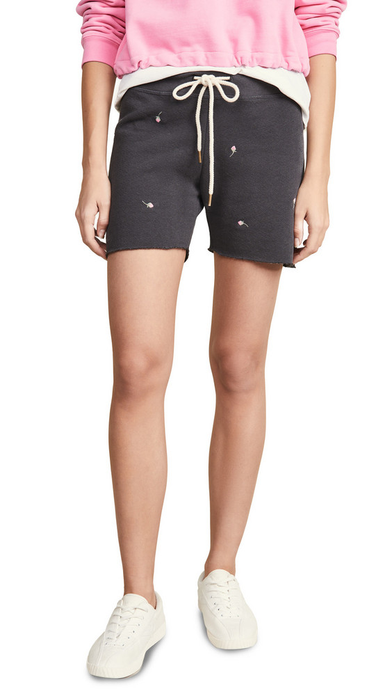 THE GREAT. THE GREAT. The Sweat Shorts in black