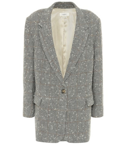 Isabel Marant, Étoile Orix wool-blend blazer in grey