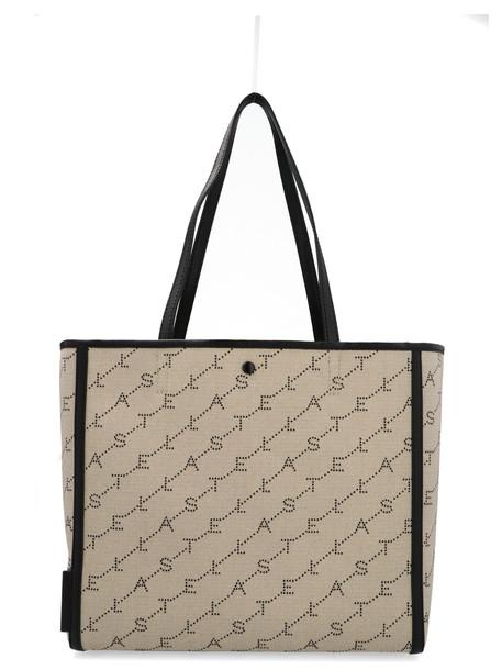 Stella Mccartney the Logo Bag Bag in beige