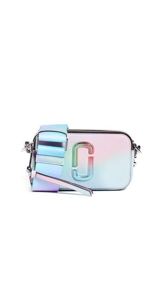 The Marc Jacobs Snapshot Airbrushed Camera Bag in green / multi