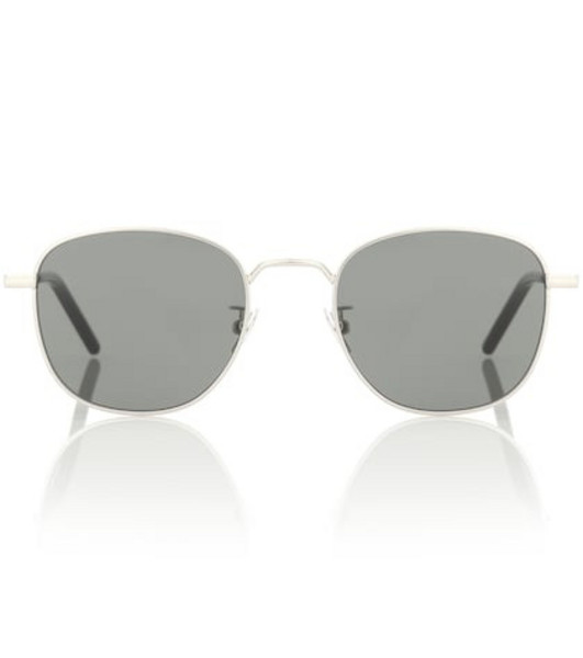 Saint Laurent New Wave SL 209 metal sunglasses in silver
