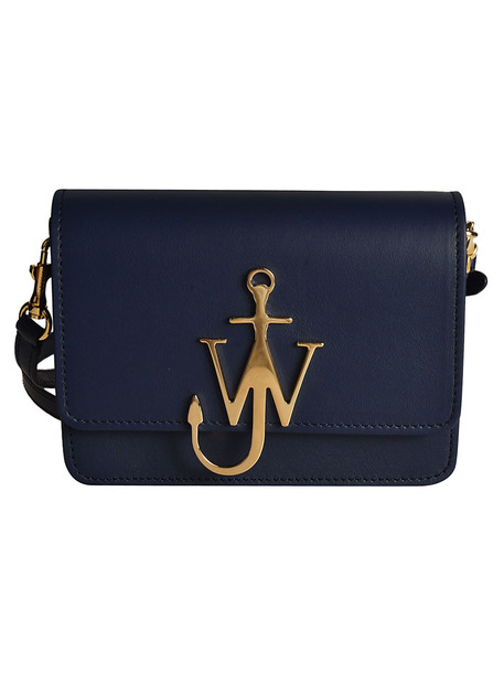 J.W. Anderson Jw Anderson Anchor Logo Shoulder Bag in navy