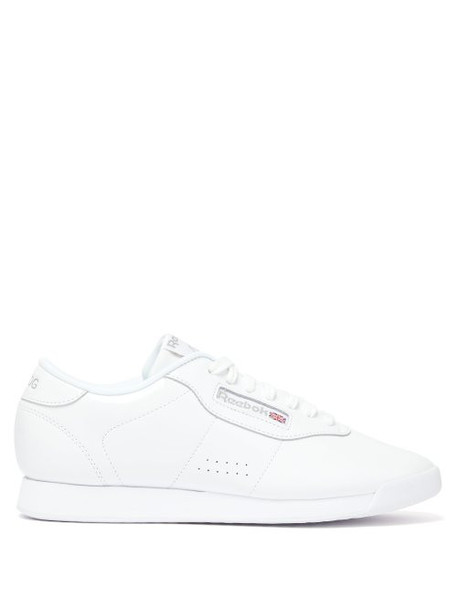 Junya Watanabe - X Reebok Low Top Patent Leather Trainers - Womens - White