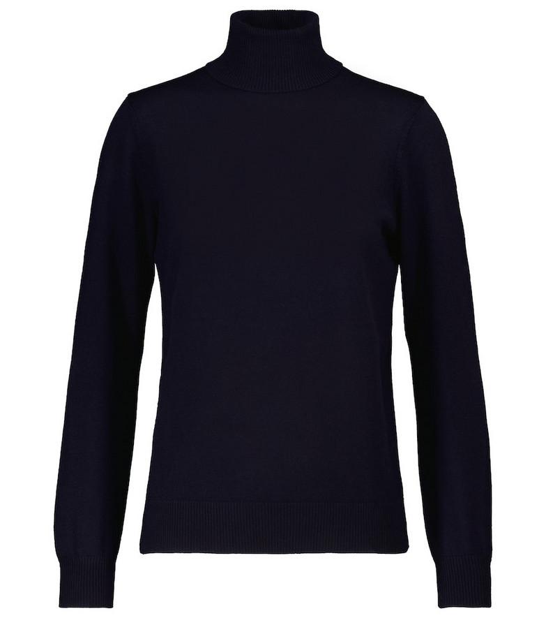 A.P.C. Sandra merino wool sweater in blue