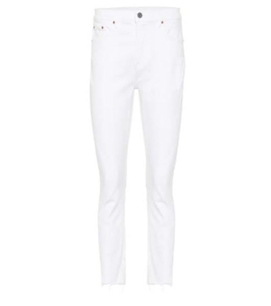 Grlfrnd The Reed high-rise skinny jeans in white