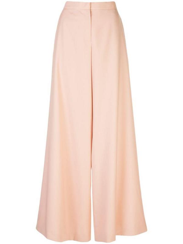 Maison Rabih Kayrouz tailored palazzo pants in pink