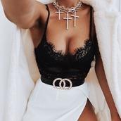 underwear,black,lace,bodysuit,top,lingerie