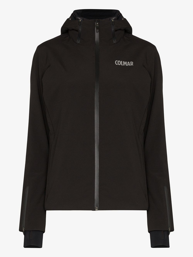Colmar Insulated hooded jacket in black